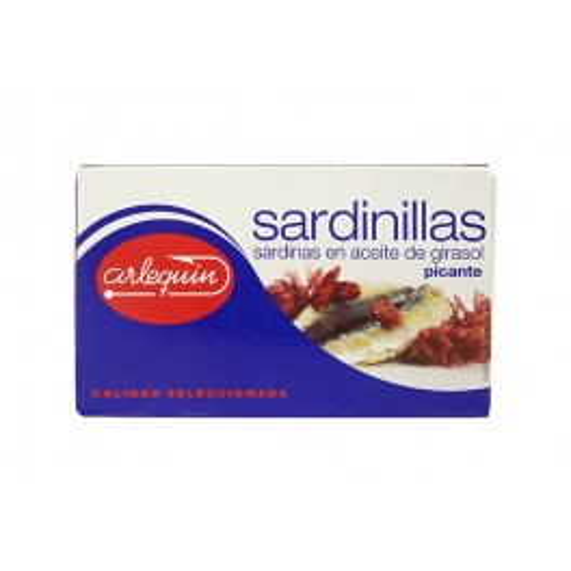 Sardinillas en aceite de girasol picante