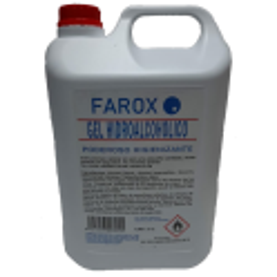 Gel hidroalcohólico Garrafa 5L